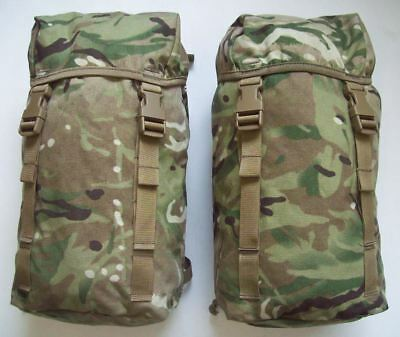 NEW - MTP Multicam MK1 PLCE Rucksack Side Pouches / Pockets - Set of 2