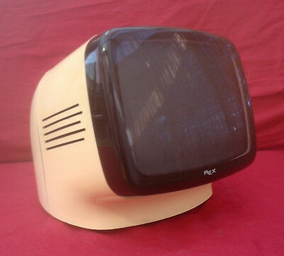 Vintage Mini TV Space Age REX L9