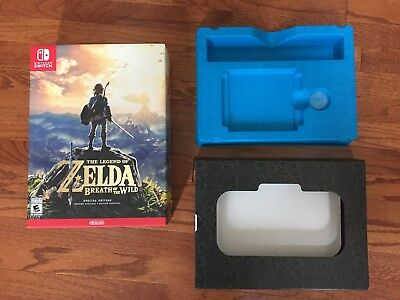 Nintendo Switch LEGEND OF ZELDA Breath of the Wild Special Edition (Box Only)
