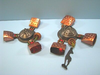 Vintage Copper Cow Bell Wind Chime