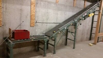 Hytrol Powered Incline/Decline Belt Conveyor