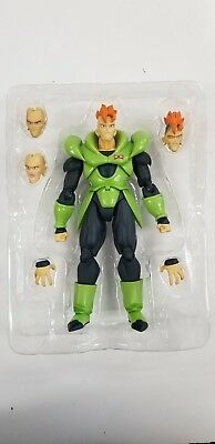 S.H.Figuarts Dragonball Z Android NO. 16 Action Figure Bandai PRE-OWNED