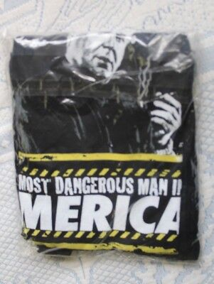 NEW Rush Limbaugh Tee Shirt Mens LG Large Most Dangerous Man in America NEW