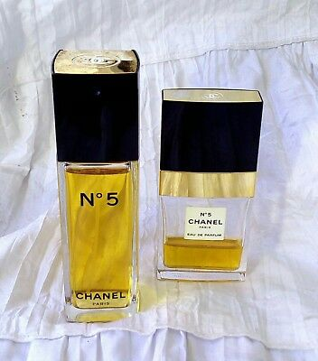 Vintage-Damen Parfum-Chanel-No.5-100 ml Flakon EDT + 35 ml Flakon EDP
