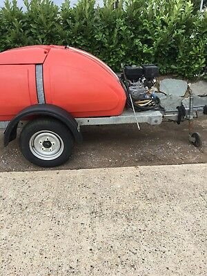 Western Water Bowser With Pressure Washer