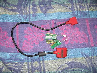 Snap On Verus Solus,solus Pro Modis,mt2500 Dl16 Key Adaptor Cable & 7 Keys Used