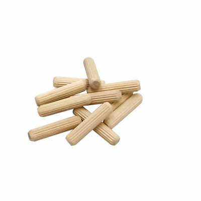 "Milescraft #5300 1/4"" 50-Piece Fluted Wood Dowel Pin"