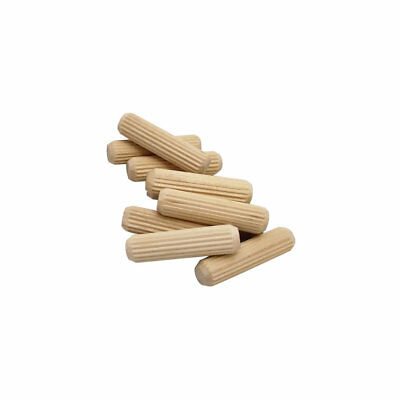 "Milescraft #5301 5/16"" 45-Pack Fluted Wood Dowel Pins"