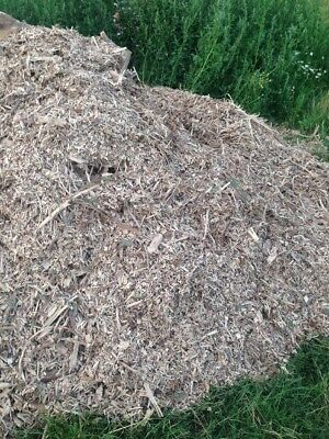 Wood Chip Mulch Bark In Sacks