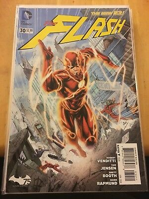 Flash #30 1st Appearance New 52 Wally West NM