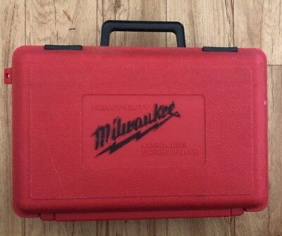 Milwaukee Heavy Duty Cordless Screwdriver W/ Carrying Case