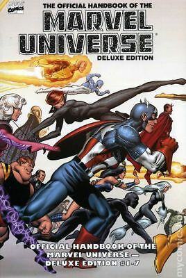 Marvel Universe Essential Deluxe Edition Vol 1 Marvel Graphic Book