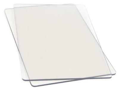 Sizzix Cutting Pads Standard 1 Pair ~ CLEAR ~ 655093