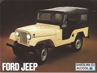 Ford Jeep as built and sold in Brazil