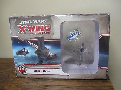 New! Star Wars X-Wing Miniature Game: Rebel Aces Expansion Pack