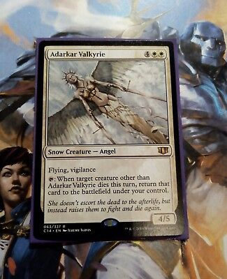 ADARKAR VALKYRIE 063/337 Commander 2014 RARE Mtg Magic the Gathering card C14