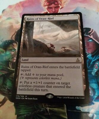 Oath of the Gatewatch Ruins of Oran-Rief - Rare 176//184