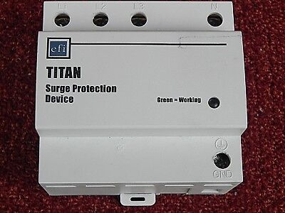 efi  TITAN ELECTRONIC  SURGE PROTECTION DEVICE  20kA