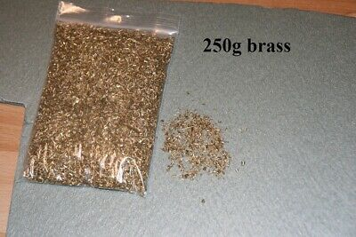 Metal Shavings brass very small swarf for arts crafts and hobbies, 250g