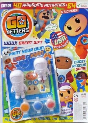 Cbeebies Go Jetters Magazine #24 - April With Gifts ~ New ~