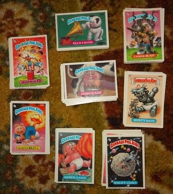 Garbage Pail Kids 150+ Stickers Assortment Mixed Lot 1986, 1987, 1988