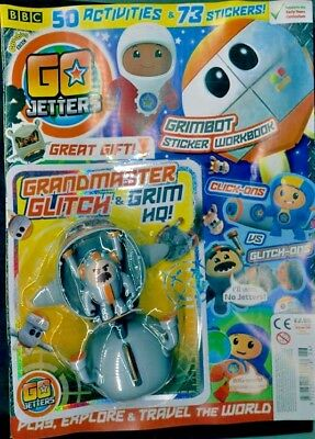 Cbeebies Go Jetters Magazine #26 - June 2018 With Gifts ~ New ~