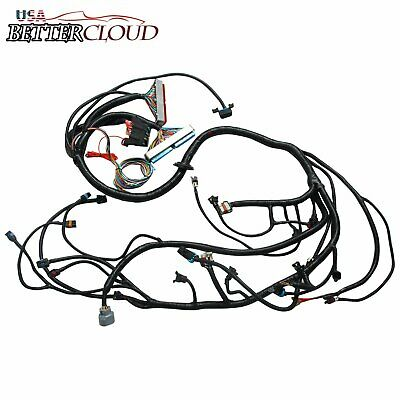 1999 2006 Dbc 4 8 5 3 6 0 Vortec Standalone Wiring Harness With T56