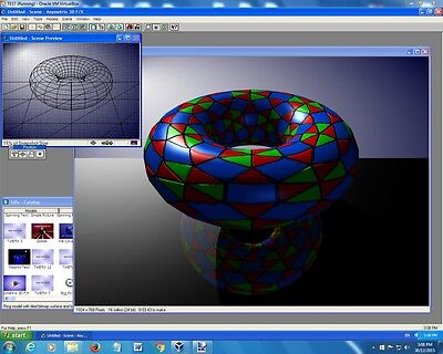 Asymetrix 3D F/X Easily Create 3D Graphics Effects /Web/Raytrace/Render/ 3D Text