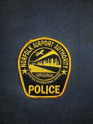 Norfolk International Airport, Virginia, Police Patch, Sheriff