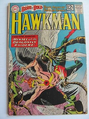 Brave and the Bold #42 (1962) - Hawkman earns helmet wings.
