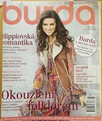 Burda style magazine unused 9/2009