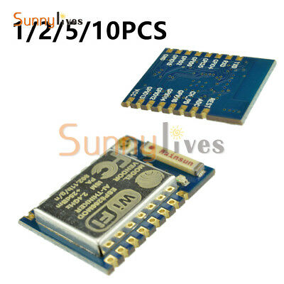 1/2/5/10PCS ESP8266 Remote Serial Port WIFI Transceiver Module Esp-07 AP+STA