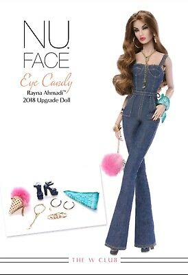 Rayna Eye Candy Fashion Royalty COMPLETE Doll Fashion Accessories NRFB PRESALE