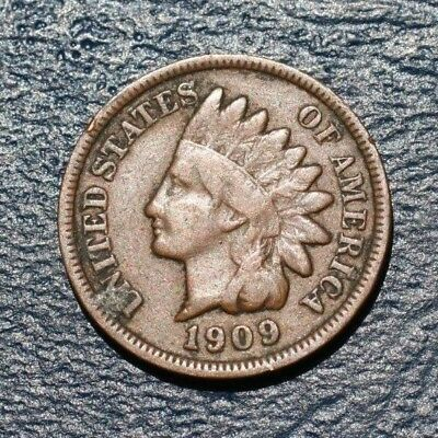 1909 Indian Head Cent  *very Good Details*  *nice*