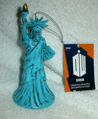 Doctor Who DR WHO STATUE OF LIBERTY WEEPING ANGEL CHRISTMAS ORNAMENT NEW W TAG