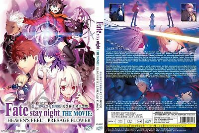 Anime DVD Fate/Stay Night The Movie:Heaven's Feel-I.Presage Flower - BRAND NEW