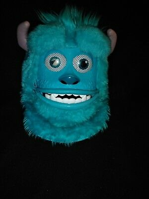 Disney Monsters Inc. Sully mask with movable mouth and adjustable straps