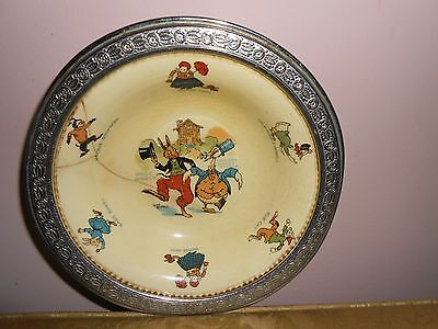 Uncle Wiggily Golden Maize Cereal Bowl Sebring Pottery Company Original 1924
