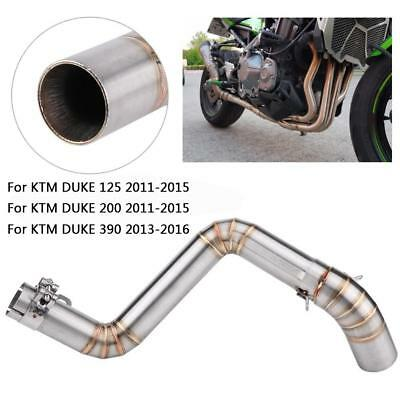 Exhaust System Vent Middle Pipe Link Connect for KTM Duke 200 Duke 125 2011-2015