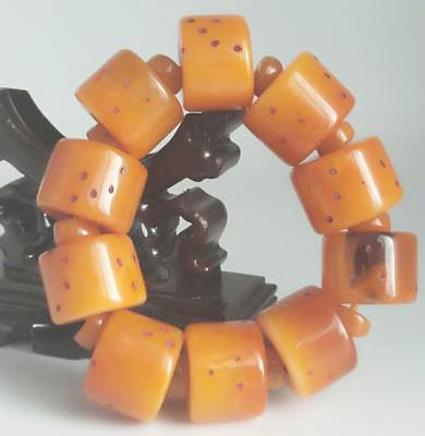 Beautiful Chinese Natural Beeswax Hand Woven Bracelet