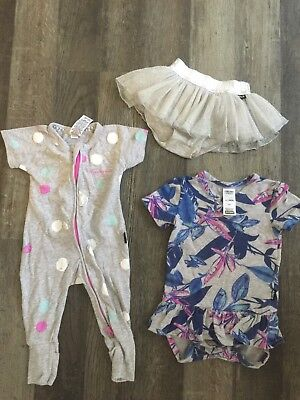 Bonds Baby Girl Bundle 0-3 Months and 3-6 Months