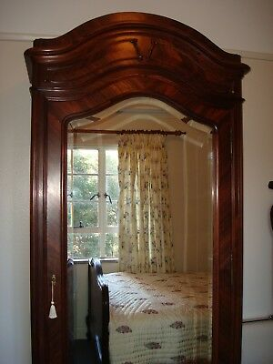 Antique French Louis XV Armoire Rose wood