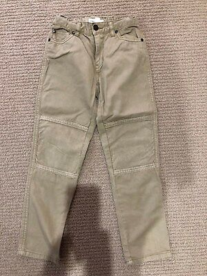 Boys Size 7 Country Road Jeans with Cord Knee Detail. VGUC