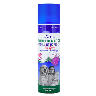 Flea Control House Spray Lavender Scent 200gm *Kills Fleas*