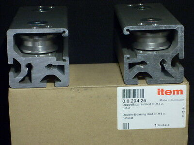 New In Box Set of Two Item Item24 0.0.294.26 8 D14 C Double Bearing Unit Germany