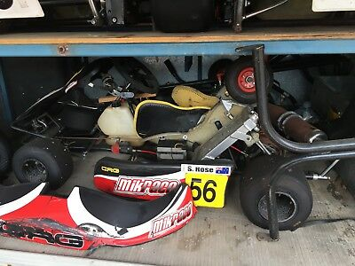 go karts and trailer