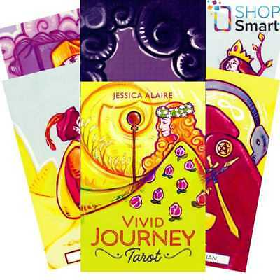 Vivid Journey Tarot Cards Deck Esoteric Telling Jessica Alaire Llewellyn New