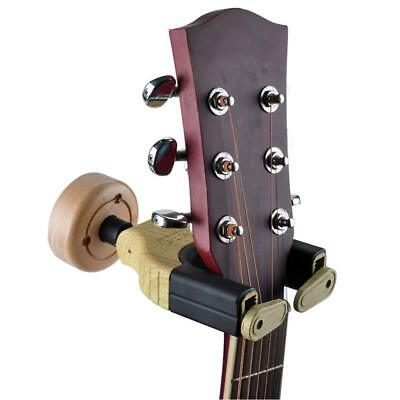 Guitar Hanger Hook Holder Wall Mount Display with Automatic Lock for Guitar,Bass