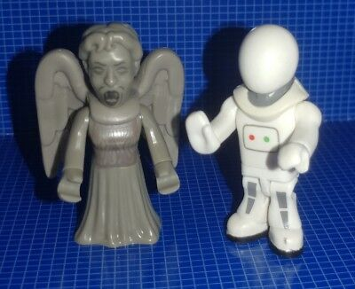 BBC Micro-Figure DOCTOR WHO; WEEPING ANGEL (SCREAMING FACE) & HANDBOT lot