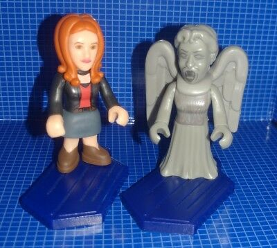 BBC Character Building Micro-Figure Series1: AMY POND & WEEPING ANGEL lot